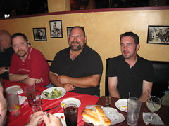 Robert, Steve, Carlos' friend