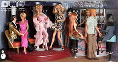 Cindy Whiteside Barbie Dioramas (MyLifeInPlastic.com) Tags: usa ny brooklyn disco golden dream barbie nprbarbie