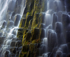Proxy falls (Zeb Andrews) Tags: camera film nature oregon landscape outdoors waterfalls pacificnorthwest proxyfalls mamiya7ii bluemooncamera zebandrews zebandrewsphotography