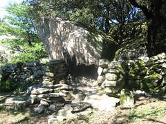 Col de Ferula (805 m) : les restes de bergerie