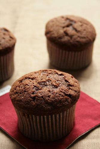 rhum chocolate muffin