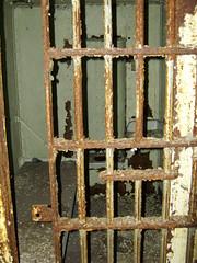 Decayed Newark Jail (ksk photography) Tags: wood building abandoned rotting metal garbage rust grafitti debris nj historic rusted jail rusting newark peelingpaint decrepit crumbling urbex collapsing nationalregisterofhistoricplaces oldessexcountyjail
