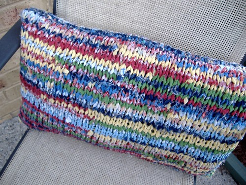 rag cushion (garden chair)