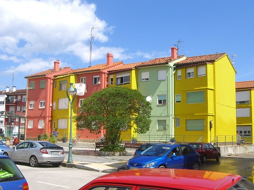 Newly Painted Houses