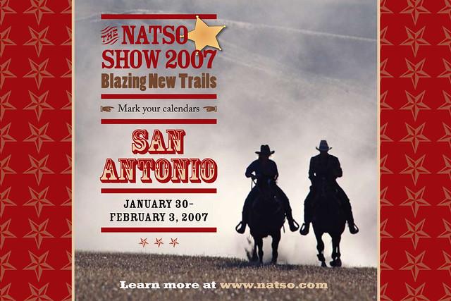 NATSO postcard