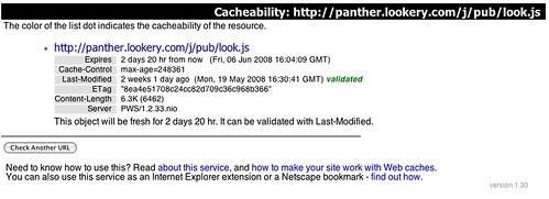 CDN Cacheability - Panther Express