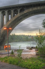 Monroe St. Bridge / Spokane River
