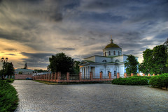 Ukraine, Bila Tzerkva (lights2008) Tags: sunset sky color art church beauty dark searchthebest ukraine orthodox hdr mostpopular   bej  anawesomeshot thebestofhdr