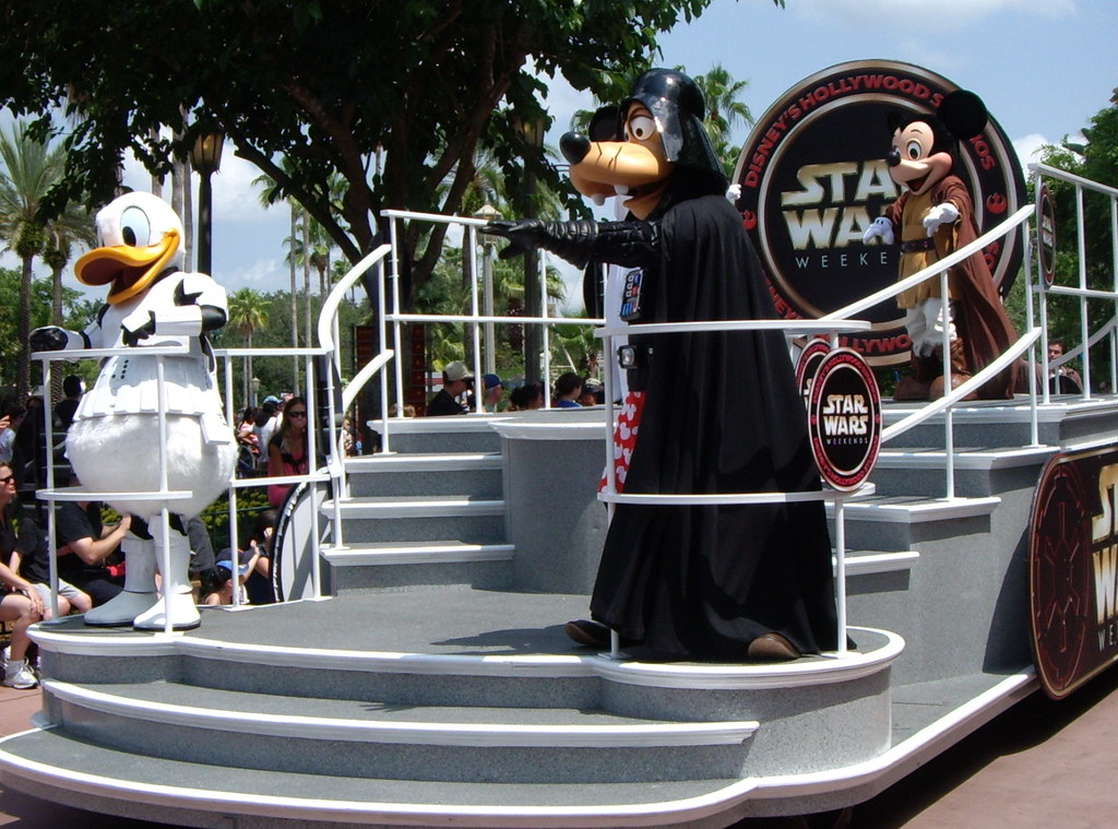 Disney's Star Wars Weekends Motorcade