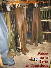 Chest waders à la Maison de la Botte en Caoutchouc (pascal en bottes) Tags: boots chest goma rubber pascal wellies waders gummistiefel bottes botas gumboots gomma caoutchouc laarzen stivali