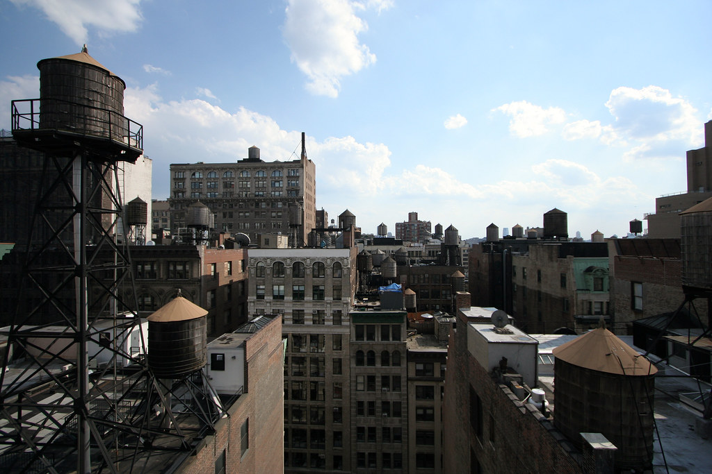 Flatiron rooftops