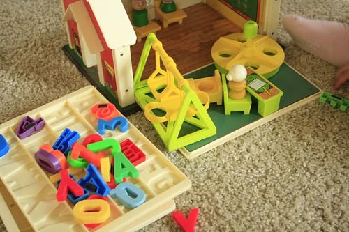 FP schoolhouse pieces