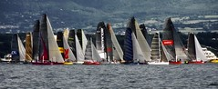 To squeeze up to keep warm (edouardv66) Tags: 2 panorama lake color water sailboat race switzerland boat nikon sailing suisse geneva wind 10 or lac 8 11 explore transportation sail 17 sui pan d200 20 18 leman bol 27 2008 genve 18200 vr 337 942 boldor photoexplore