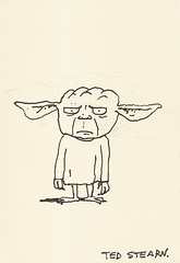 Yoda sketchbook page 72 - Ted Stearn