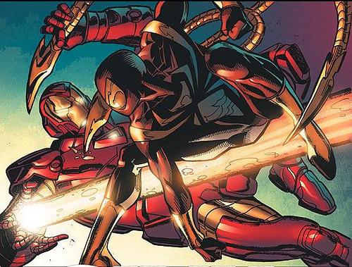 Iron spiderman vs spiderman - photo#3