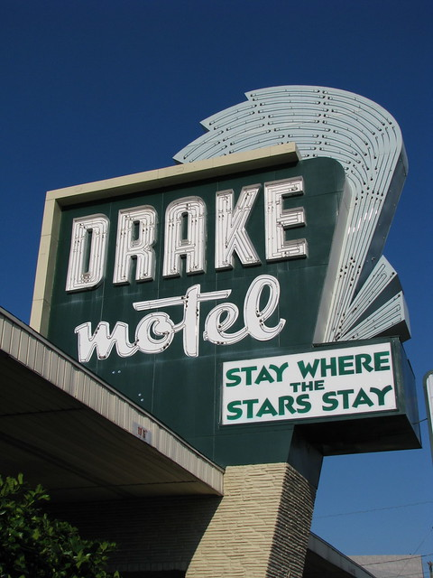 The Drake Motel, Stay Where the Stars Stay!!!! by Phillip Riggins