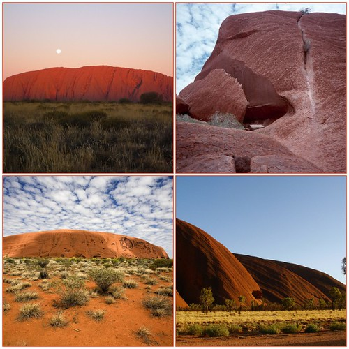 Ayers Rock (not my photos)