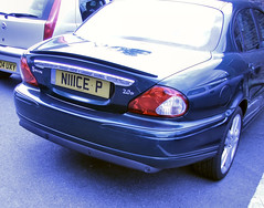 Nice? (FeralChicken) Tags: cars numberplate
