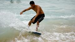 DSC04723 (Mark Ramelb Photography) Tags: beach waikiki skimboarding