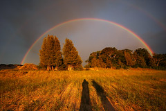 the most amazing rainbow (double) i've ever seen (north manitou island) (snapstill studio) Tags: leland rainbow michigan lakemichigan greatlakes northmanitouisland sleepingbear leelanau