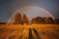 the most amazing rainbow (double) i've ever seen (north manitou island) (snapstill studio) Tags: leland rainbow michigan lakemichigan greatlakes northmanitouisland sleepingbear leelanau