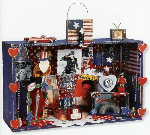 4th of July Project: USA Shrine