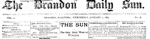 Brandon Daily Sun 1882 scan