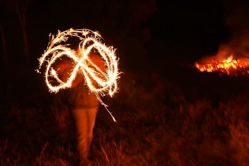 Rodonda by sparkler