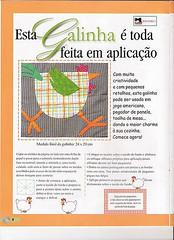 galinha de aplicao (Balaio de Gato2008) Tags: feltro galinhas