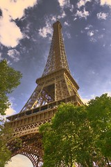 Eiffel Tower - Paris, France (Nicholas Doumani) Tags: paris france eiffeltower hdr lptowers