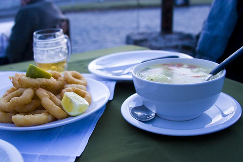 Chowder and Calamari, El Torreon