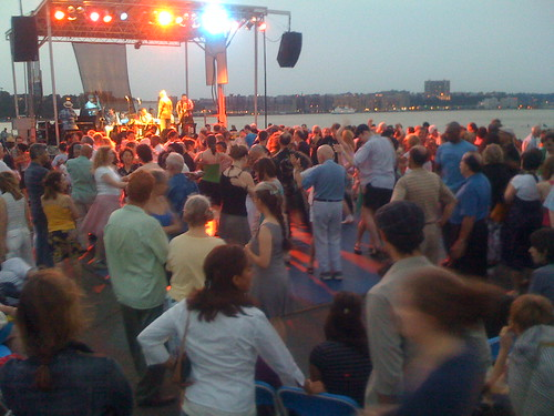 Dave Berger Orchestra at Moondance on Pier 54