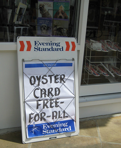Oyster card free-for-all