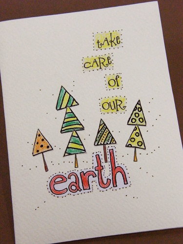 take care of our earth