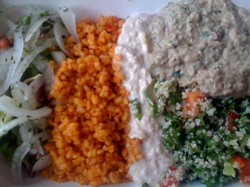 Manna: Ordering a Platter