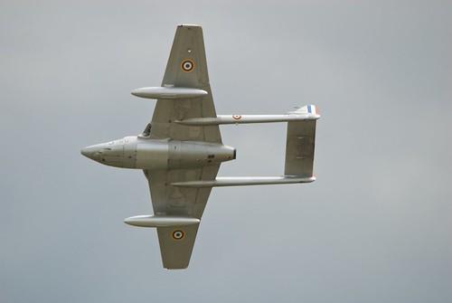 Warbird picture - Melun 2008 - De Haviland DH.100 Vampire