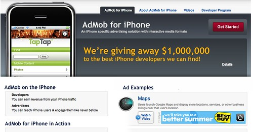 AdMob iPhone marketplace