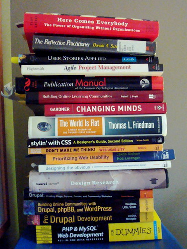 A Selection of Books I've Referenced