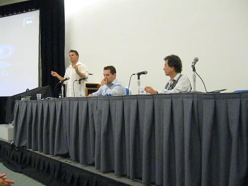 Rod Roddenberry, Trevor Roth, and Allen Holzman
