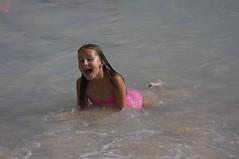 Alex Swims at Waikiki