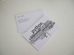 Business cards! (Tom Insam (old)) Tags: exif:missing=true moobusinesscardstagcloud