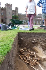The Scone Skeleton (amaldon) Tags: archaeology grave skeleton scotland awesome perthshire medieval best burial excavation sconepalace stoneofscone stoneofdestiny sconeabbey massproject