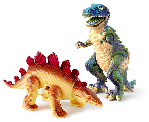 Wind-up dinosaurs, 1993