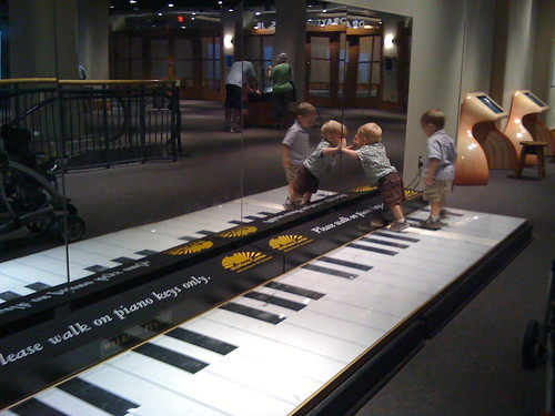 Dance on the Piano at McWane