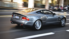 Vanquish S Panned (j.hietter) Tags: urban motion car speed start silver french grey downtown riviera angle martin metallic gray grand s monaco whole prix website carlo monte panning coupe aston vanquish wholecar