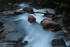 waterfall جدول مائي (alkhaledi) Tags: slow shutter naturesfinest مجرى مائي