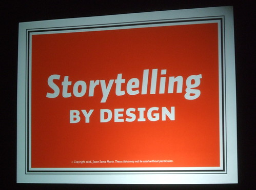 Storytelling by Design by Jason Santa Maria
