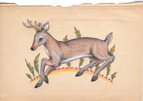 Untitled deer.