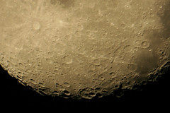 Deep Impact (gainesp2003) Tags: sky moon nature night space luna craters telescope crater astrophotography astronomy lunar moonscape tycho astrophoto