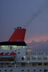 海の香りと船の匂い